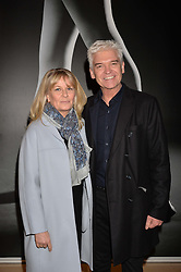 Phillip Schofield and his wife Stephanie at the Giselle Premier VIP Party, St.Martin's Lane Hotel, London England. 11 January 2017.