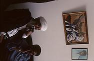 "kees Adana, great raby of the ""bata Israel Jews in Ethiopia and his sohn, Great rabbi of Ethiopian Jews in Israel  Beit Shemesh  Israel  Youssouf adana son fils /// religion ///  judaisme   /// le Kees Adana, grand rabbin des juifs ""Beta israel"" d'Ethiopie, et son fils le grand rabin (sepharade) des Ethiopiens d'israel  Beit Shemesh  Israel youssouf his sohn  /// R00287/    L004339  /  P0007211"