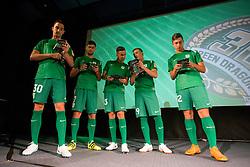 Presentation of a new jersey of NK Olimpija Ljubljana, on July 9, 2018 in Kino Bezigrad, Ljubljana, Slovenia. Photo by Urban Urbanc / Sportida