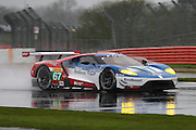 67 LMGTE Pro Ford Chip Ganassi Team UK / Ford GT / Marino Franchitti / Andy Priaulx / Harry Tinknel during the FIA World Endurance Championship at Silverstone, Towcester, United Kingdom on 15 April 2016. Photo by Craig McAllister.