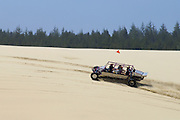Dune buggy ride with Sandland Adventures at Oregon Dunes National Recreation Area on the Oregon Coast.