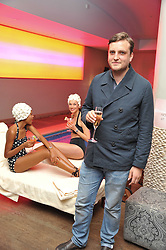 JAMES WALSH at a pool party to celebrate the UK launch of the Omega Ladymatic Collection held at the Haymarket Hotel, Haymarket, London on 16th June 2011.