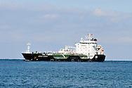 Ship the Asphalt Seminole at sea