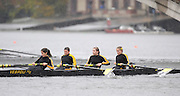 Cambridge, USA, Master eights men [40+]. The Old Lights,  Ed HEWITT,  approaching Elliott Bridge, during the  2009 Head of the Charles  Sunday  18/10/2009  [Mandatory Credit Peter Spurrier Intersport Images],.