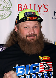 """Roy Nelson arriving for the One Step Closer """"All In For CP"""" celebrity charity poker event held at Ballys Poker Room, Ballys Hotel & Casino, Las Vegas, December 9, 2018"""