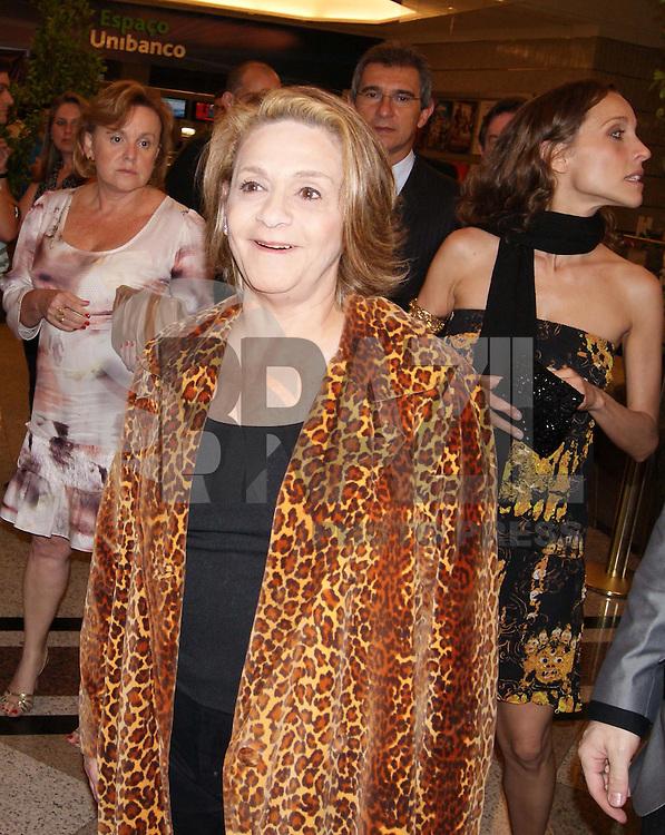 SÃO PAULO, SP, 22 DE OUTUBRO DE 2009 - INAUGURAÇÃO TEATRO BRADESCO - Inauguração do Teatro Bradesco no Shopping Bourbon no bairro Pompéia na região oeste da capital paulista (FOTO: WILLIAM VOLCOV / BRAZIL PHOTO PRESS).