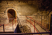 Over 800 metres of winding tunnels, which weave their way under the Jan Žižka Square in the Old Town of Tabor were opened shortly after the 2nd World War. The labyrinth was originally intended for defensive purposes, as the town's citizens came up with an idea to construct a place where they could hide in case of danger as attacks or fire.