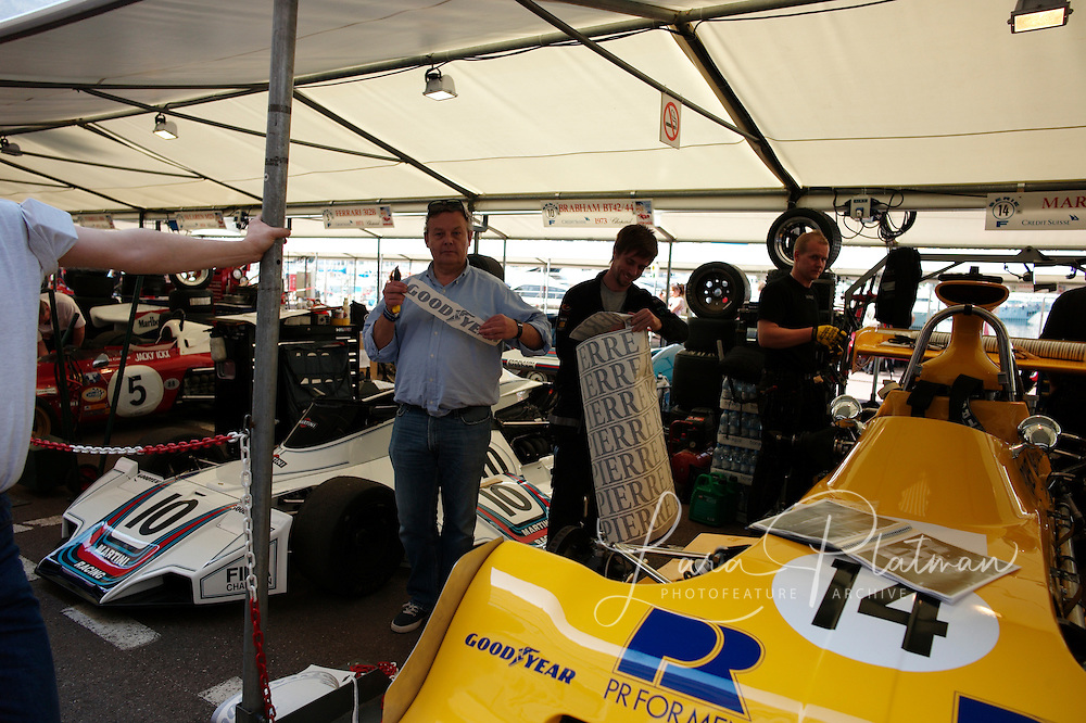 7th Grand Prix de Monaco Historique Peter Wallenburg with his March 731 1973