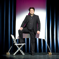 Nederland, Amstelveen, 02-02-2012.<br /> Mike Bodd&eacute;, acteur.<br /> Foto : Klaas Jan van der Weij