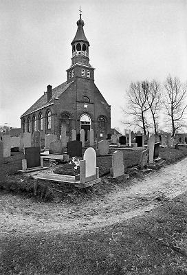 Nederland, 1984Serie mbt geestelijk leven in Nederland.  Nederlands Hervormde kerk in Friesland .Foto: Flip Franssen