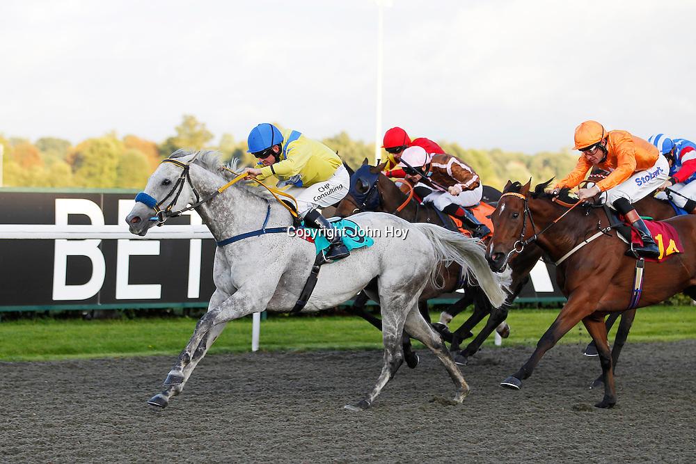 Kielty's Folly and Jim Crowley winning the 5.40 race