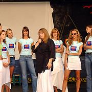 Miss Nederland 2003 reis Turkije, Coaching trainer, Kimberly Kleczka