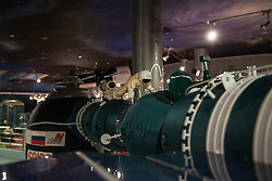 Photo taken on April 7, 2016 shows the model of Soyuz-4 and Soyuz-5 Spacecraft docking at the Museum of Cosmonautics in Moscow, Russia. The Museum of Cosmonautics opens its doors to public on April 10th, 1981, 20th Anniversary of the first manned space flight. Museum exposition gives a retrospect on how space science evolved starting from first man-made satellites subsequently followed by the first manned space flight, first space walks, Moon exploration programs, Solar system exploration programs and international space research programs. EXPA Pictures © 2016, PhotoCredit: EXPA/ Photoshot/ Bai Xueqi<br /> <br /> *****ATTENTION - for AUT, SLO, CRO, SRB, BIH, MAZ, SUI only*****