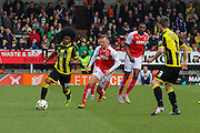 Burton Albion's Hamza Choudhury wins the ball in midfield during the Sky Bet League 1 match between Burton Albion and Fleetwood Town at the Pirelli Stadium, Burton upon Trent, England on 12 March 2016. Photo by Aaron  Lupton.