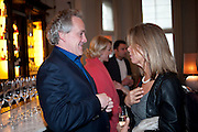 HENRY PORTER; SABRINA GUINNESS, Henry Porter hosts a launch for Songs of Blood and Sword by Fatima Bhutto. The Artesian at the Langham London. Portland Place. 15 April 2010. *** Local Caption *** -DO NOT ARCHIVE-© Copyright Photograph by Dafydd Jones. 248 Clapham Rd. London SW9 0PZ. Tel 0207 820 0771. www.dafjones.com.<br /> HENRY PORTER; SABRINA GUINNESS, Henry Porter hosts a launch for Songs of Blood and Sword by Fatima Bhutto. The Artesian at the Langham London. Portland Place. 15 April 2010.