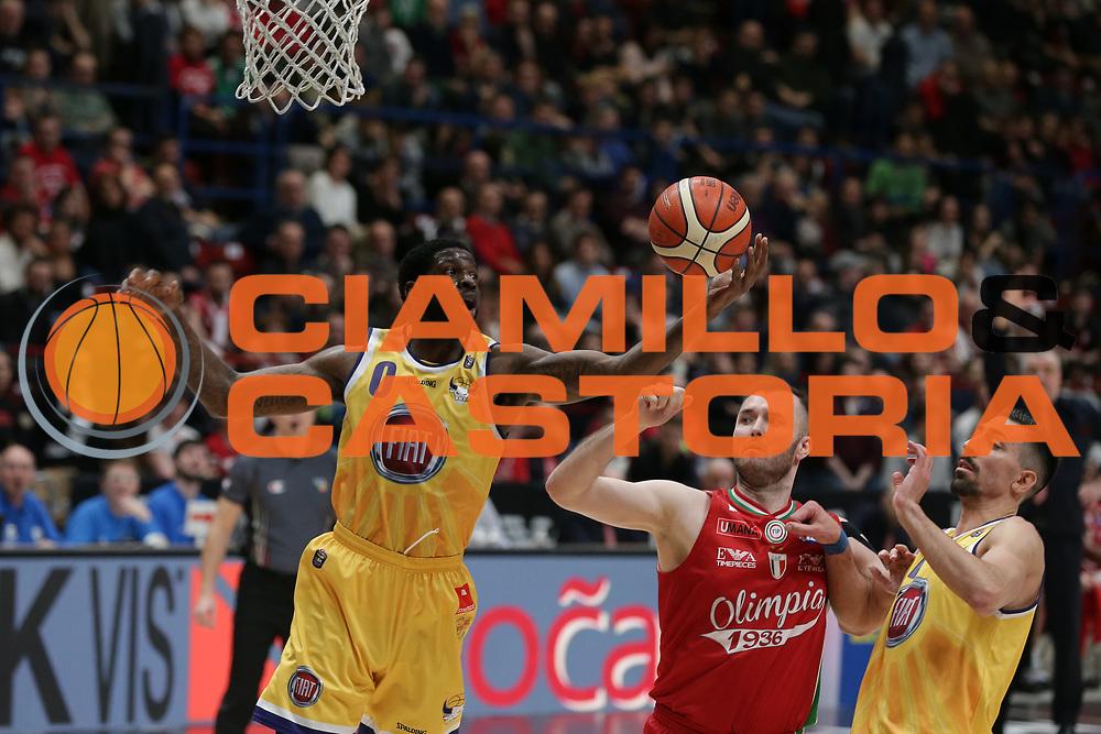 Wilson Jamil<br /> EA7 Olimpia Milano vs Auxilium Fiat Torino<br /> Lega Basket Serie A 2016/2017<br /> Milano 05/03/2017<br /> Foto Ciamillo-Castoria/A. Gilardi