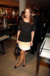 ARABELLA MUSGRAVE at a party to celebrate the launch of Diesel's new mens & womens fragrances 'Fule for Life' at their newly reopened store on the Kings Road, London on 13th September 2007.<br />