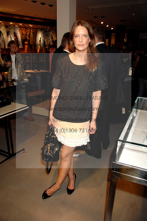ARABELLA MUSGRAVE at a party to celebrate the launch of Diesel's new mens & womens fragrances 'Fule for Life' at their newly reopened store on the Kings Road, London on 13th September 2007.<br /><br />NON EXCLUSIVE - WORLD RIGHTS