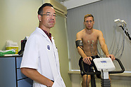 Robert Beric pictured during his medical tests at RSC Anderlecht  - 30 August 2017