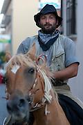 Rionero in V. (PZ) 19/08/2010 -  Lu Muzz' c r lu Br' ghand, sfilata di briganti.
