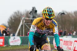 Ellen van Loy (BEL), Women, Cyclo-cross World Cup Hoogerheide, The Netherlands, 25 January 2015, Photo by Pim Nijland / PelotonPhotos.com