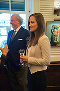 GRAYDON CARTER; PIPPA MIDDLETON, Vanity Fair Lunch hosted by Graydon Carter. 34 Grosvenor Sq. London. 14 May 2013