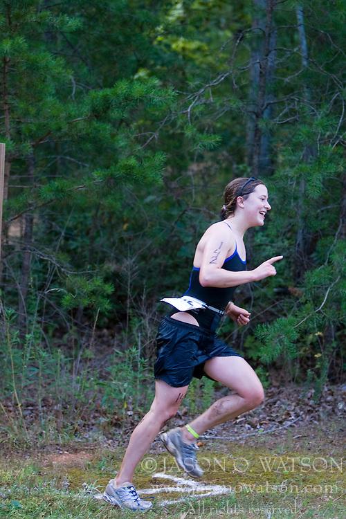 CHARLOTTESVILLE, VA - July 27, 2008 - JULIE RECHEL in The 2008 Charlottesville International Triathlon was held at Walnut Creek Park in Albemarle County near Charlottesville, Virginia, USA.