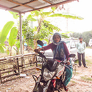 Girl on Wheels, Bangladesh by Shirin.<br /> <br /> Shirin is 26 years old. She is born and raised in Gazipur, where she works as an inspector at Earl Fashion Limited. She likes to spend time with her kids and she enjoys nature.