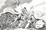 Death or Liberty': Cartoon of 1817 expressing the fear some had that Reform would violate the British constitution.
