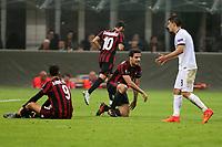 Milano - 19.10.2017 - Milan-AEK Atene - Europa League   - nella foto:  Giacomo Bonaventura e Andre Silva delusi