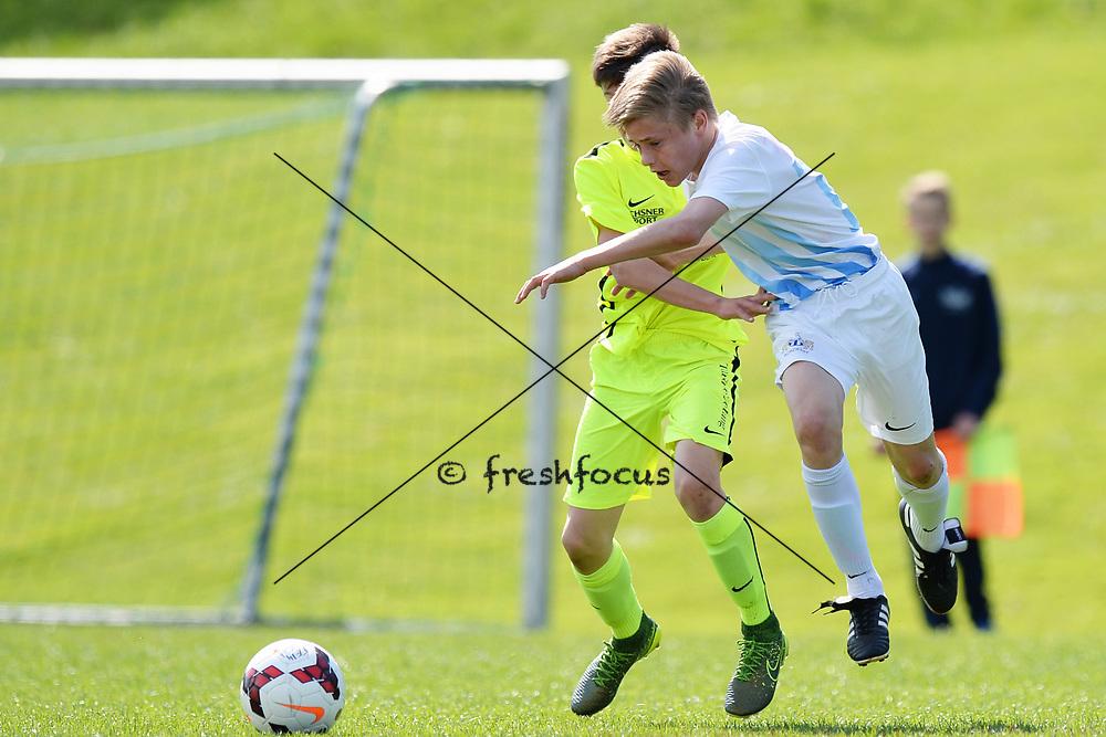 01.04.2017; Zuerich; Fussball Junioren - FCZ Uetliberg FE-14 - FCO Thurgau - Maxim Seelig (Zuerich)<br /> (Steffen Schmidt/freshfocus)