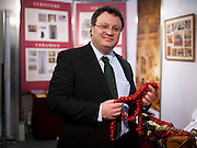 .Dr. Stephen Farry Employment and Learning Minister for Northern Ireland at  the ExCel Centre  in London on October 8th 2011.