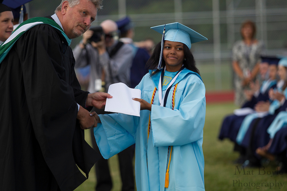 Highland Graduation on Thursday June 6, 2012. (photo / Mat Boyle)