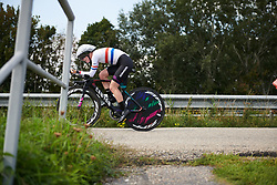 Hannah Barnes (GBR) at Boels Ladies Tour 2018 - Stage 6, an 18.6km individual time trial in Roosendaal, Netherlands on September 2, 2018. Photo by Sean Robinson/velofocus.com