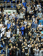 KOSARKA, BEOGRAD, 21. Nov. 2010. - Navijaci Partizana.  Utakmica 13. kola NLB lige  u sezoni (2010/2011) izmedju Partizana i Crvene zvezde. Foto: Nenad Negovanovic