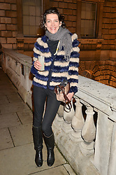 THOMASINA MIERS at Skate at Somerset House in association with Fortnum & Mason held on 10th November 2014.