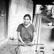 Juana is a weaver in San Juan Cotzal, Guatemala -- a small town in the western highlands of the country that was heavily affected by civil war from 1960-1996. As a result, 70 percent of the town's population is female, and most of the women are weavers by trade.
