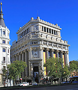 Instituto Cervantes, Calle de Alcala, Madrid city centre, Spain