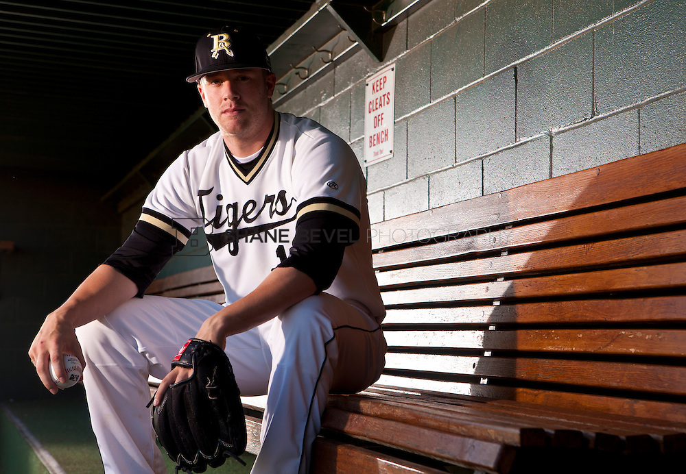 5/26/11 6:11:07 PM -- Broken Arrow, OK, U.S.A. --Archie Bradley poses for a photo on the dugout bench of the Broken Arrow baseball stadium.  Broken Arrow high pitcher Archie Bradley is one of our ALL USA TODAY baseball team candidates. -- ...Photo by Shane Bevel, Freelance.