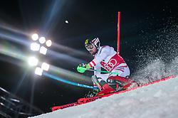 THEMENBILD - Bereits zum 22. Mal begeistert der FIS Nachtslalom der Herren am 29. Jänner 2019 tausende Zuseher im WM-Austragungsort 2013 in Schladming, hier im Bild:  Archivbild vom 23.01.2018, Planai, Schladming, AUT, FIS Weltcup Ski Alpin, Schladming, Slalom, Herren, 1. Lauf, im Bild Marcel Hirscher (AUT) // in action during his 1st run of men's Slalom of FIS ski alpine world cup at the Planai in Schladming, Austria on 2018/01/23. EXPA Pictures © 2018, PhotoCredit: EXPA/ Johann Groder