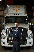 Matt Rosa is Shop Area Manager at Distribution Center 6838 in Marcy, New York on Monday, February 20, 2017.