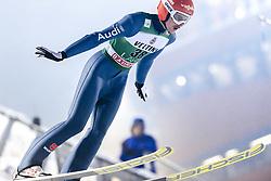 February 8, 2019 - Lahti, Finland - Richard Freitag competes during FIS Ski Jumping World Cup Large Hill Individual Qualification at Lahti Ski Games in Lahti, Finland on 8 February 2019. (Credit Image: © Antti Yrjonen/NurPhoto via ZUMA Press)