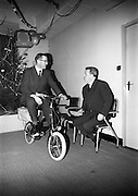 "22/12/1965<br /> 12/22/1965<br /> 22 December 1965<br /> <br /> <br /> Presentation of the :""Pink Paraffin"" Bicycle awards"