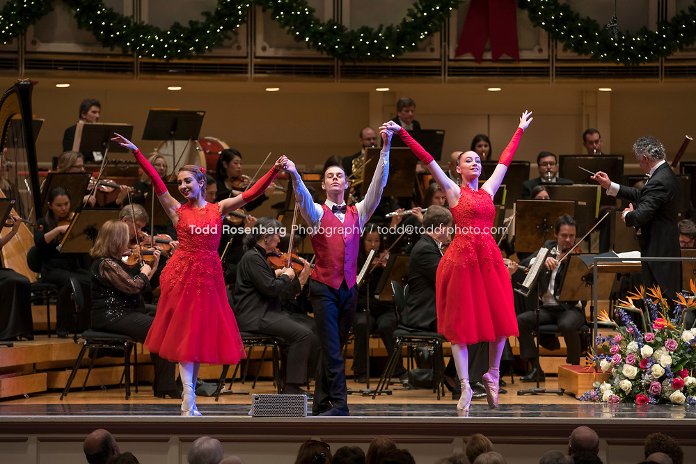 12/30/17 2:45:36 PM -- Chicago, IL, USA<br /> Attila Glatz Concert Productions' &quot;A Salute to Vienna&quot; at Orchestra Hall in Symphony Center. Featuring the Chicago Philharmonic <br /> <br /> &copy; Todd Rosenberg Photography 2017