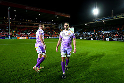 Dave Dennis of Exeter Chiefs - Mandatory by-line: Robbie Stephenson/JMP - 27/09/2019 - RUGBY - Welford Road - Leicester, England - Leicester Tigers v Exeter Chiefs - Premiership Rugby Cup
