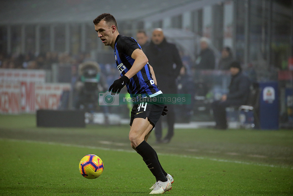 December 26, 2018 - Milan, Milan, Italy - Ivan Perisic #44 of FC Internazionale Milano in action during the serie A match between FC Internazionale and SSC Napoli at Stadio Giuseppe Meazza on December 26, 2018 in Milan, Italy. (Credit Image: © Giuseppe Cottini/NurPhoto via ZUMA Press)