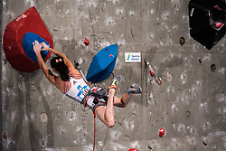 KRAMPL Mia of Slovenia during Finals IFSC World Cup Competition in sport climbing Kranj 2019, on September 29, 2019 in Arena Zlato polje, Kranj, Slovenia. Photo by Peter Podobnik / Sportida