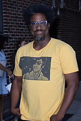 August 15, 2018 - New York, NY, USA - August 15, 2018 New York City..W. Kamau Bell made an appearance on 'The Late Show with Stephen Colbert' in New York City on August 15, 2018. (Credit Image: © Kristin Callahan/Ace Pictures via ZUMA Press)