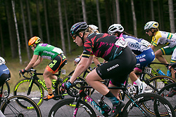 Mieke Kröger (GER) of CANYON//SRAM Racing rides mid-pack on Stage 3 of the Ladies Tour of Norway - a 156.6 km road race, between Svinesund (SE) and Halden on August 20, 2017, in Ostfold, Norway. (Photo by Balint Hamvas/Velofocus.com)