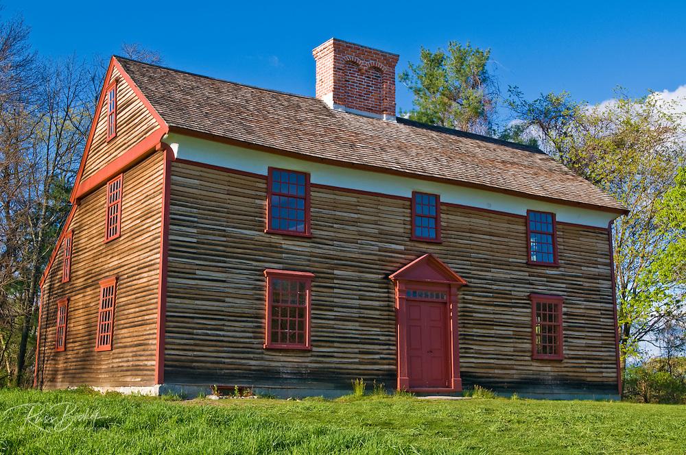 The Captain William Smith house, Minute Man National Historic Park, Massachusetts
